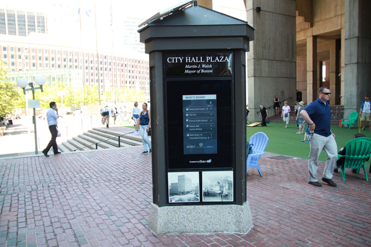 GDS brings innovative e-Paper signage to Boston City Hall Plaza