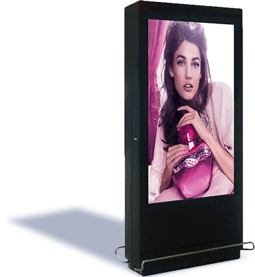 Digital screen advertising